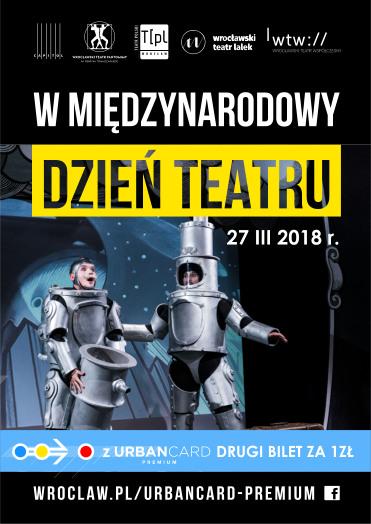 Międzynarodowy Dzień Teatru z Urbancard premium