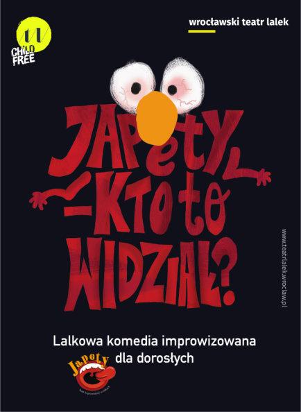 JAPETY - lalkowa improwizacja dla dorosłych. Premiera 04.10